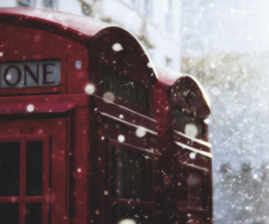 london, snow, and header image