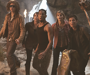 percy jackson, tyson, and sea of monsters image