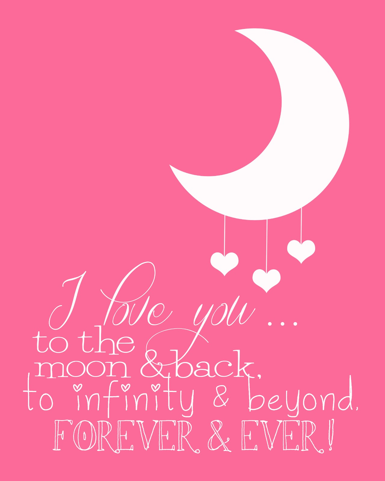 I Love You To The Moon Back On We Heart It