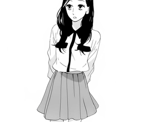 manga, girl, and hirunaka no ryuusei image