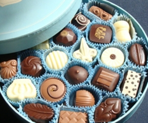 chocolates, delicious, and food image