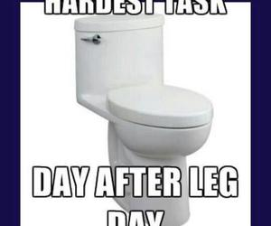 fitness, legs, and sore image