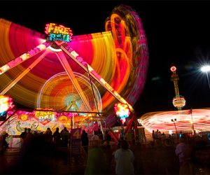 funfair and photography image