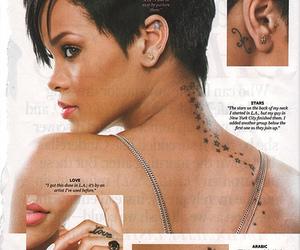 piercing, rihanna, and tattoo image