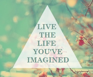 life, imagine, and live image