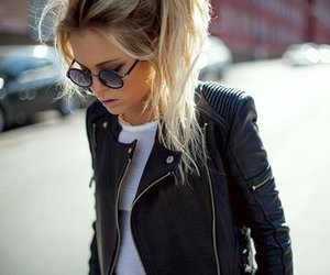 fashion, girl, and blonde image