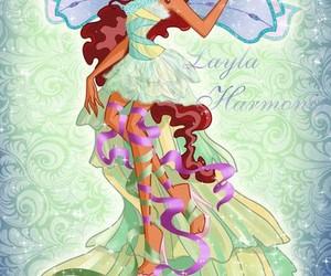 Layla, harmonix, and winx club image
