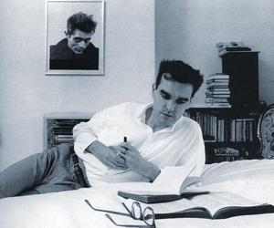black and white, james dean, and morrissey image