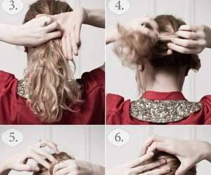 hair, diy, and french image