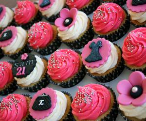 cupcake, chanel, and dress image