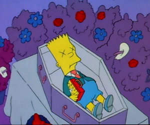 bart simpson and dead image