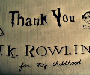 harry potter and j. k. rowling image