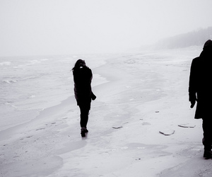 bdsm, beach, and cold image