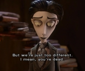 corpse bride, dead, and tim burton image
