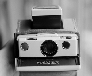 camera, polaroid, and vintage image