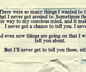 diary, i miss you, and regret image