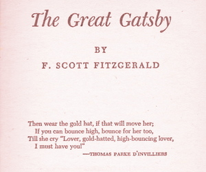 the great gatsby, quotes, and book image