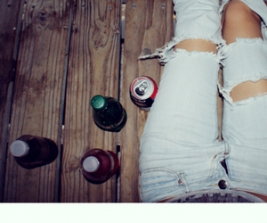 jeans and drink image