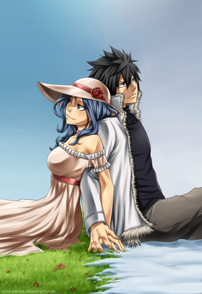 61 Images About Gray Juvia On We Heart It
