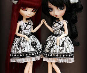 doll, gothic, and pullip image