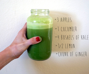 green juice, homemade juice, and juicing recipes image