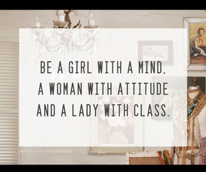 girl, quote, and lady image