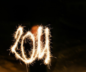 firework and 2011 image