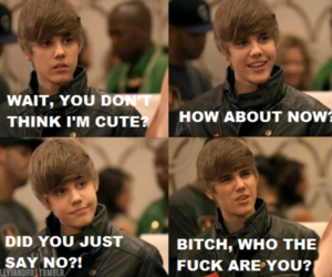 justin bieber and funny image