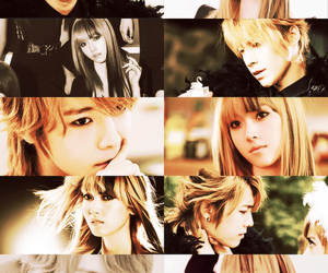 asian, blonde, and donghae image