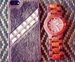 chewbacca, iphone, and phone case image
