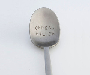cereal, killer, and spoon image