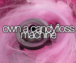 before i die, candyfloss, and food image