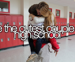 couple and high school image