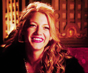 Serena Van Der Woodsen, blake lively, and gossip girl image