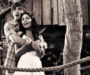 troy, gabriella, and high school musical image