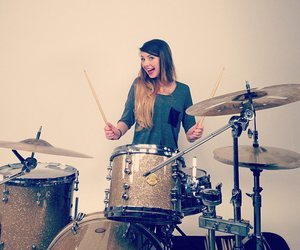 zoella, drums, and ombre image