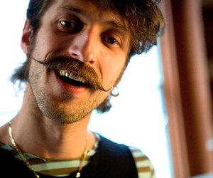 eugene hutz, gogol bordello, and mustache image