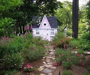 aesthetic, cottage, and fairy image