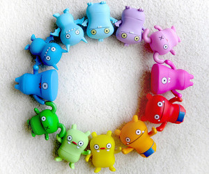 adorable, blue, and colorful image