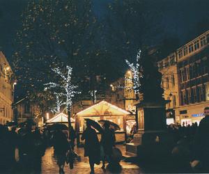light, night, and people image