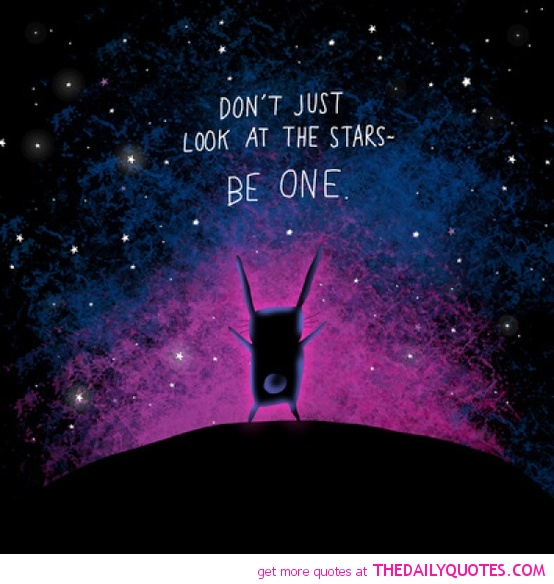 Dont Just Look At The Stars The Daily Quotes