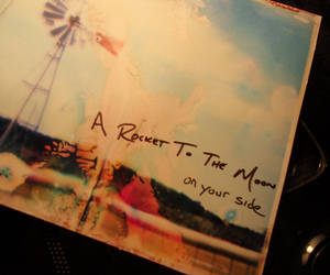a rocket to the moon and on your side image