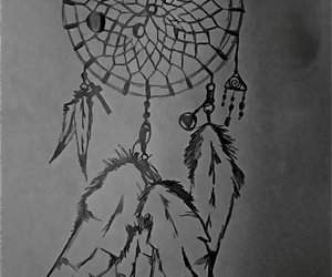 draw, hipster, and dream catcher image
