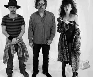 tim burton, johnny depp, and helena bonham carter image