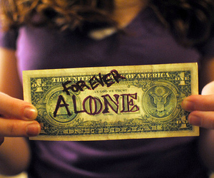 money and forever alone image