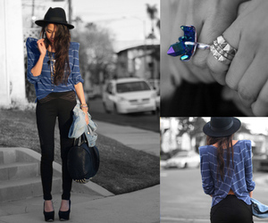 fashion, lookbook, and rings image