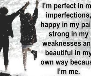 quotes, happy, and strong image