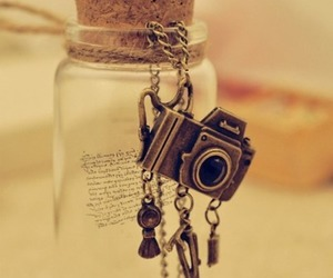 camera, photo, and necklace image