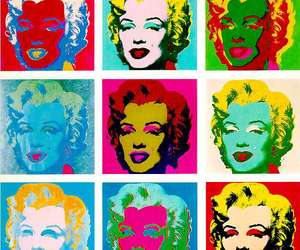 Marilyn Monroe, pop art, and andy warhol image