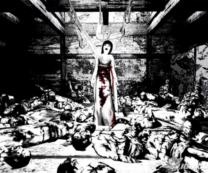 blood, creepy, and homicide image